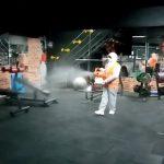 Spor salonları dezenfekte edildi