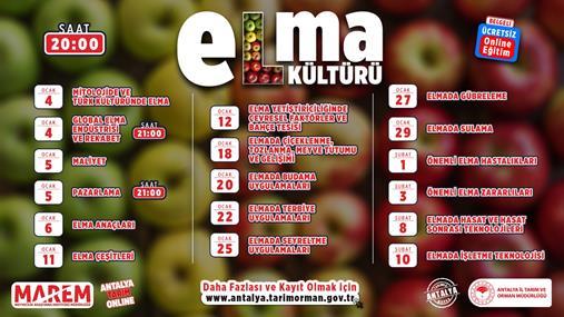 MAREM'den Elma Kültürü Eğitimi