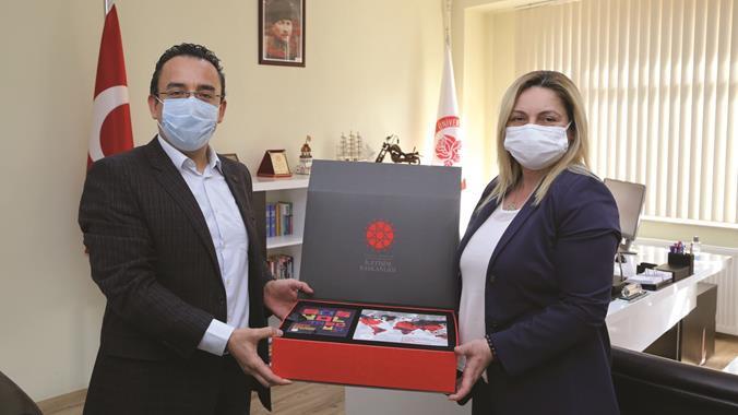 Cumhurbaşkanlığı İletişim Başkanlığı Antalya Bölge Müdürlüğünden SDÜ'ye Ziyaret