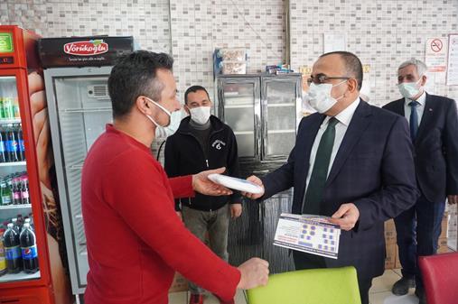 Esnafa 200 bin  maske dağıtılacak