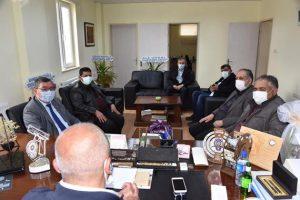 Başkan Gök'ten İlçe Emniyet Müdürü Zarif'e Ziyaret