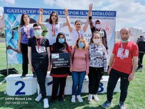 Görme Engelli Sporcular 8 Madalya İle Geri Döndü