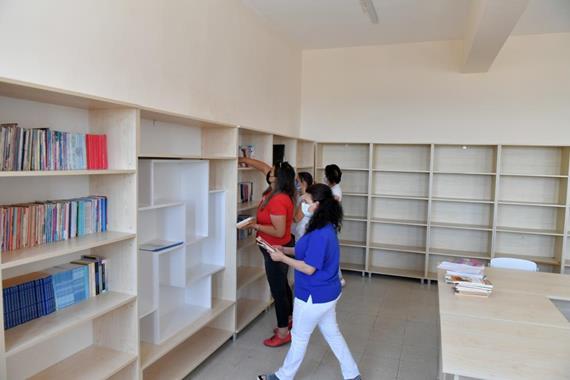 Akkent Ortaokulu Kütüphanesine Kavuştu