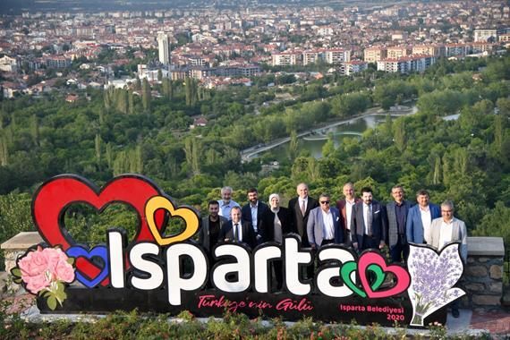 Isparta'ya Hayran Kaldılar!