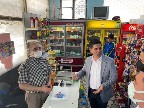 Kılıçdaroğlu'nun Görevlendirmesiyle  İstanbul'da Saha Çalışmasına Katıldı