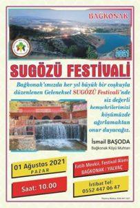 Bağkonak Muhtarı Başoda'dan Sugözü Festivali'ne Davet