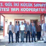 ITSO'dan Gül –2 Küçük Sanayi Sitesi Yapı Kooperatifi'ne Ziyaret